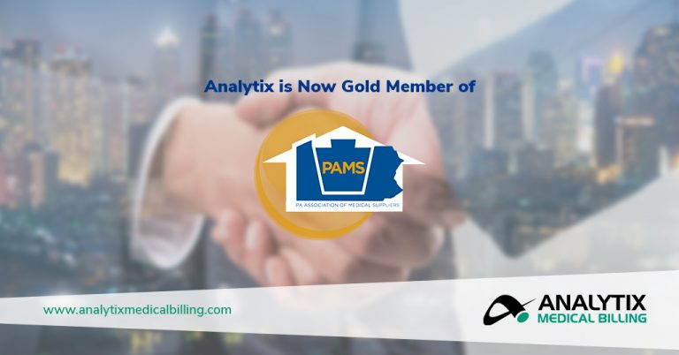 Analytix Joins as Gold Member of Pennsylvania Association of Medical Suppliers (PAMS)