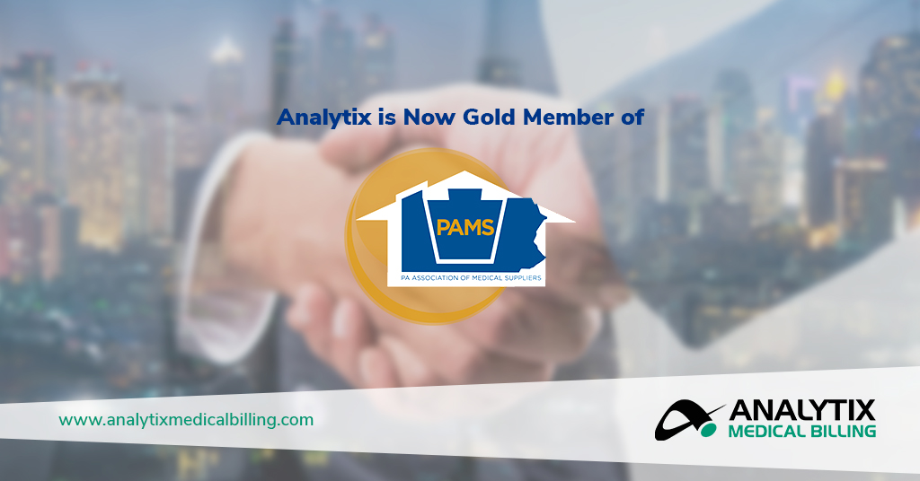 Analytix Gold Member of Pennsylvania Association of Medical Suppliers